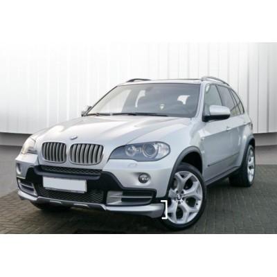 Kit de bajos BMW X5 E70 Aero look spoilers