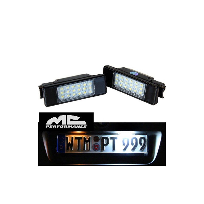 Luces led Matrícula para Citroen