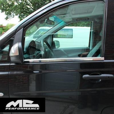 Molduras de ventana W447 Clase V/Vito
