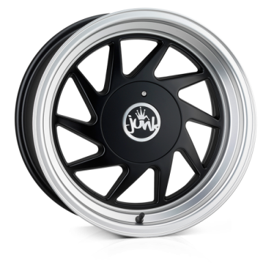 Llanta 16x9.0 4-100/108 ET20 JUNK DREG NO SO SHINY BLACK L/P C73