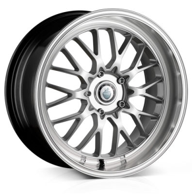Llanta 18x9.0 5-120 ET22 CADES TYRUS HIGH POWER SILVER C74 *T
