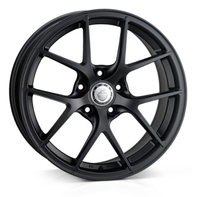 Llanta 18x9.0 5-120 ET40 CADES SHIFT MATT BLACK RACE C72