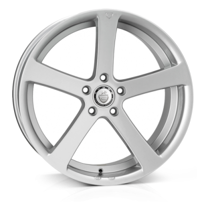 Llanta 19x9.5 5-100 ET35 CADES APOLLO HIGH POWER SILVER CREST C73*T