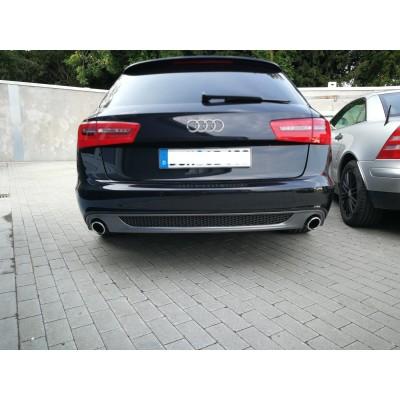 Difusor trasero Sline look Audi A6 C6 Avant