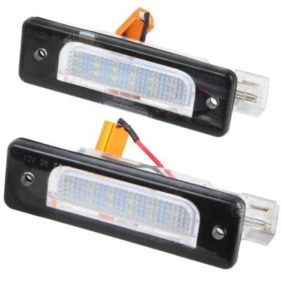 Led matricula BMW E34 E32